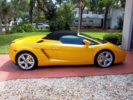 Lamborghini Detailing Tampa