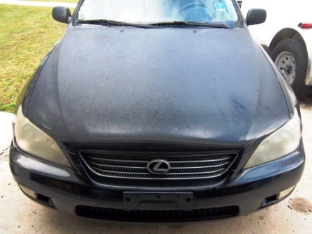 Car Detailing – Lexus Before And After