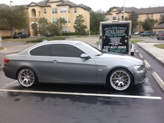 Detailing BMW in Clearwater