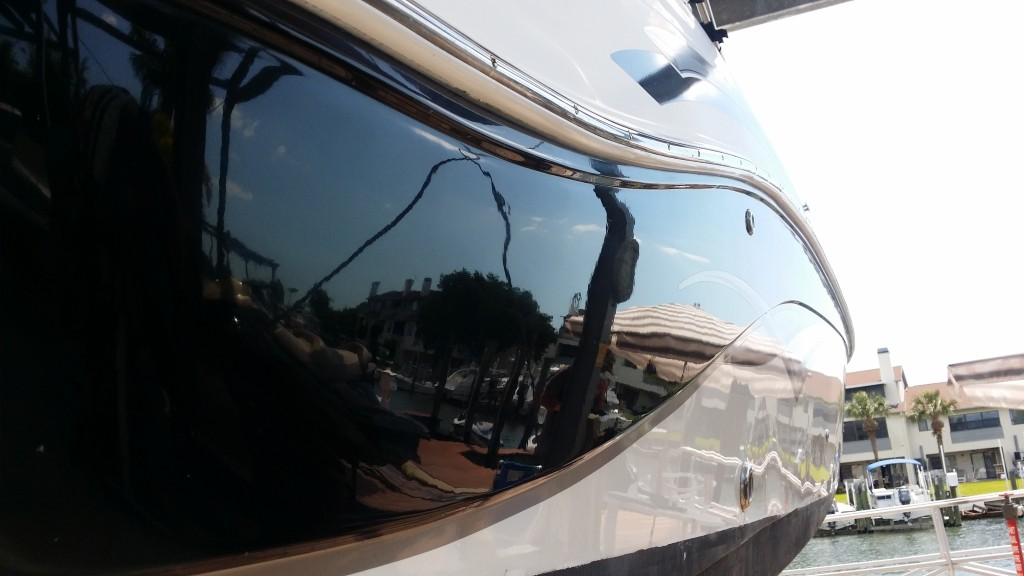 after compounding hurricane deck boat