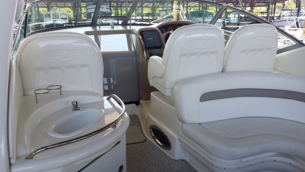 yacht upholstery detailing in tampa