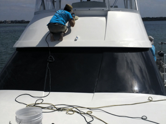 Comprehensive Exterior Yacht Detailing