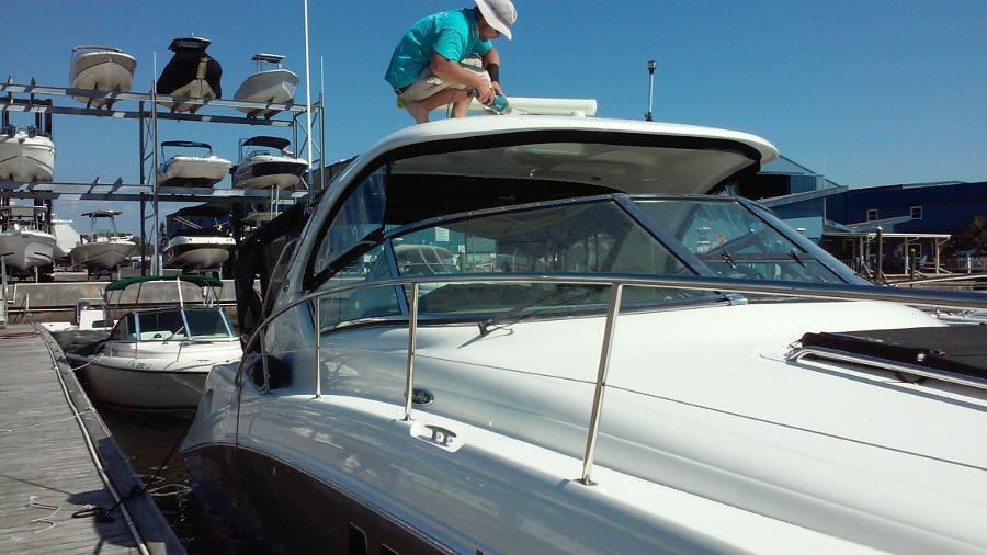 homeport marina dunedin fl boat detailing